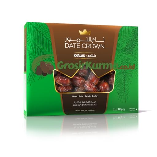 Date Crown Khalas (1 Kg) – 1 Dus @10 Pack
