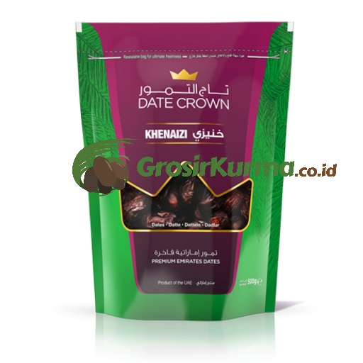 Date Crown Khenaizi (250Gr) – 1Dus @20Pack