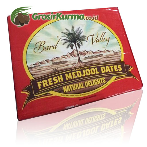 Medjool California Bard Valley Ukuran JUMBO (5 kg) – 1 Dus