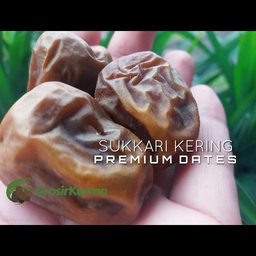 Sukkari Premium Jenis Kering (1 Kg) – 1 Pack
