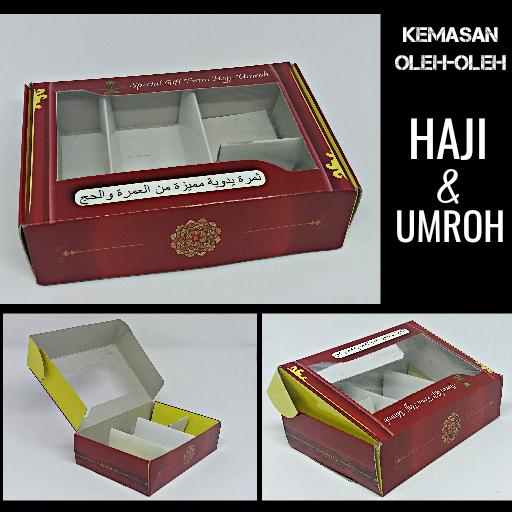 Kardus Paket Oleh-oleh Haji & Umroh