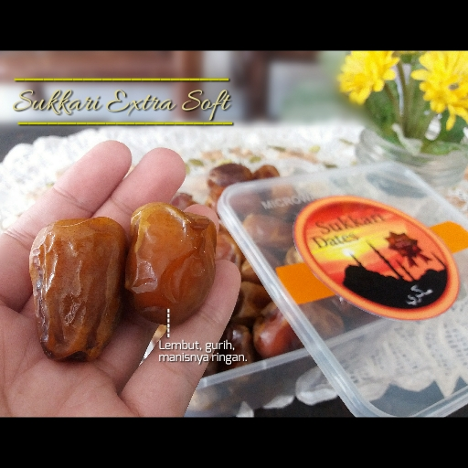 Sukkari Extra Soft (1 Kg) – 1 Pack