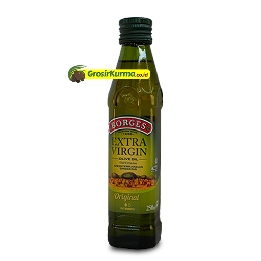 Borges EXTRA VIRGIN Olive Oil from Spain (250 Ml) – 1 Botol