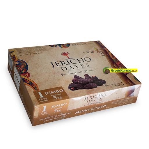 Medjool Jericho Ukuran JUMBO (5 Kg) – 1 Dus