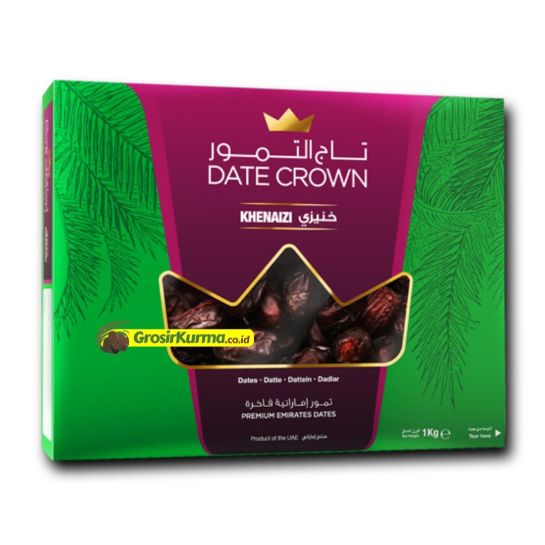 Date Crown Khenaizi (1 kg)  – 1 Dus @10 Pack