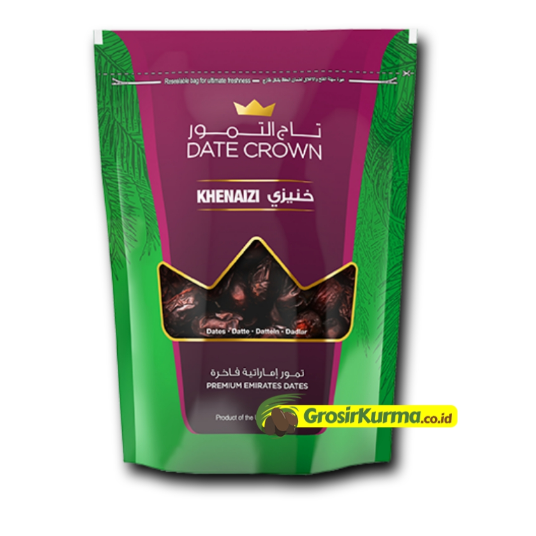 Date Crown Khenaizi (500 gr) – 1 Dus @14 Pack
