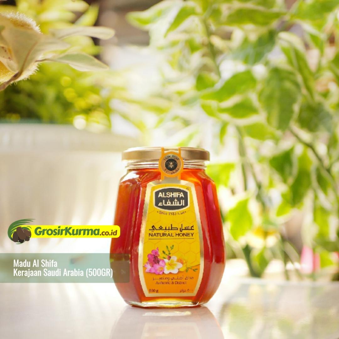 Madu Murni Saudi Al Shifa (500 Gr) – 1 Botol
