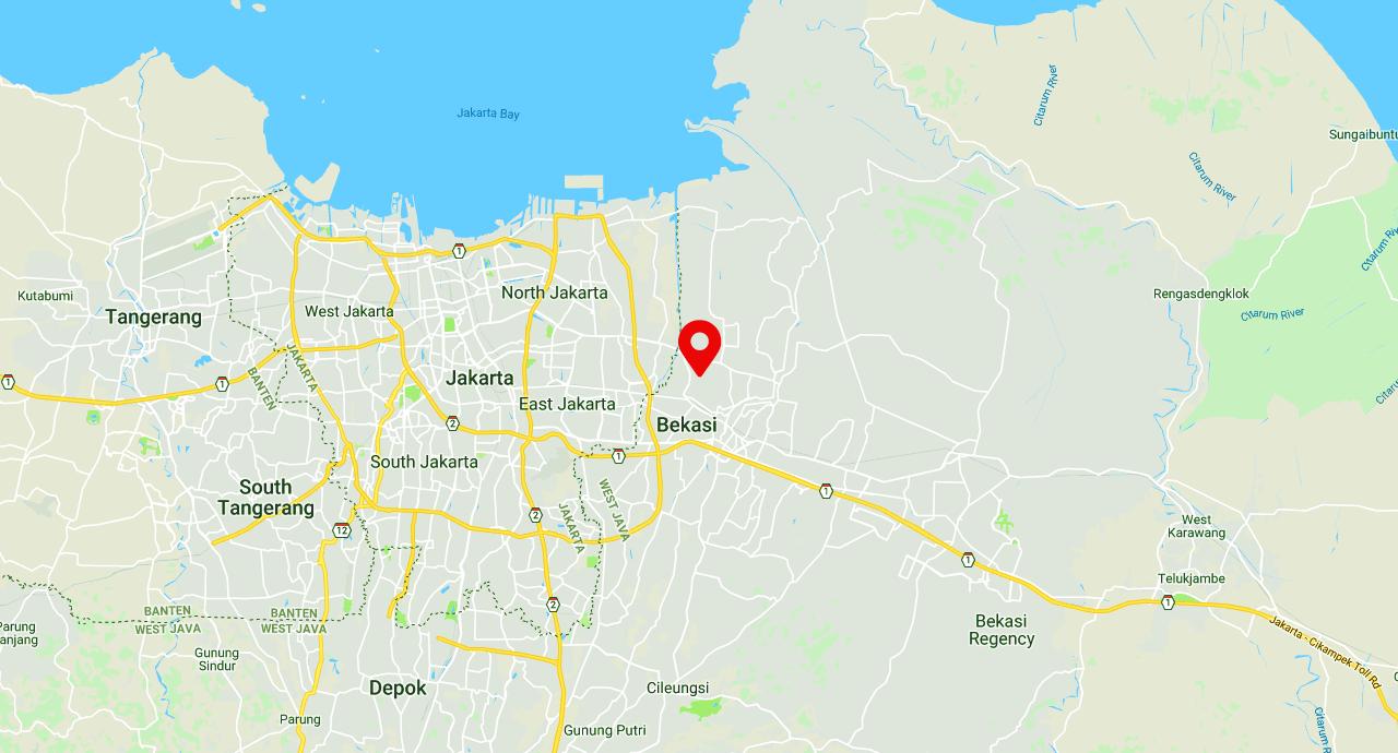 Peta lokasi grosirkurma.co.id pusat grosir kurma terlengkap dan termurah