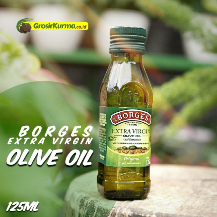 Borges EXTRA VIRGIN Olive Oil from Spain (125 Ml) – 1 Botol