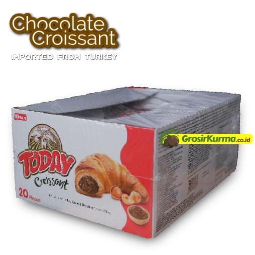Chocolate Croissant from Turkey (40 Gr) – 1 Dus @20Pack