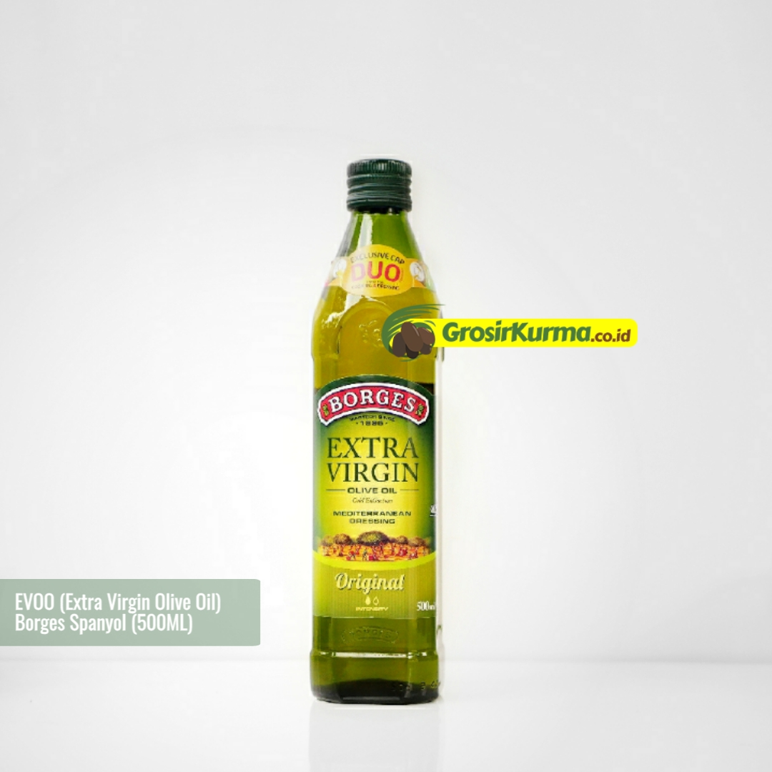 Borges EXTRA VIRGIN Olive Oil from Spain (500 Ml) – 1 Botol