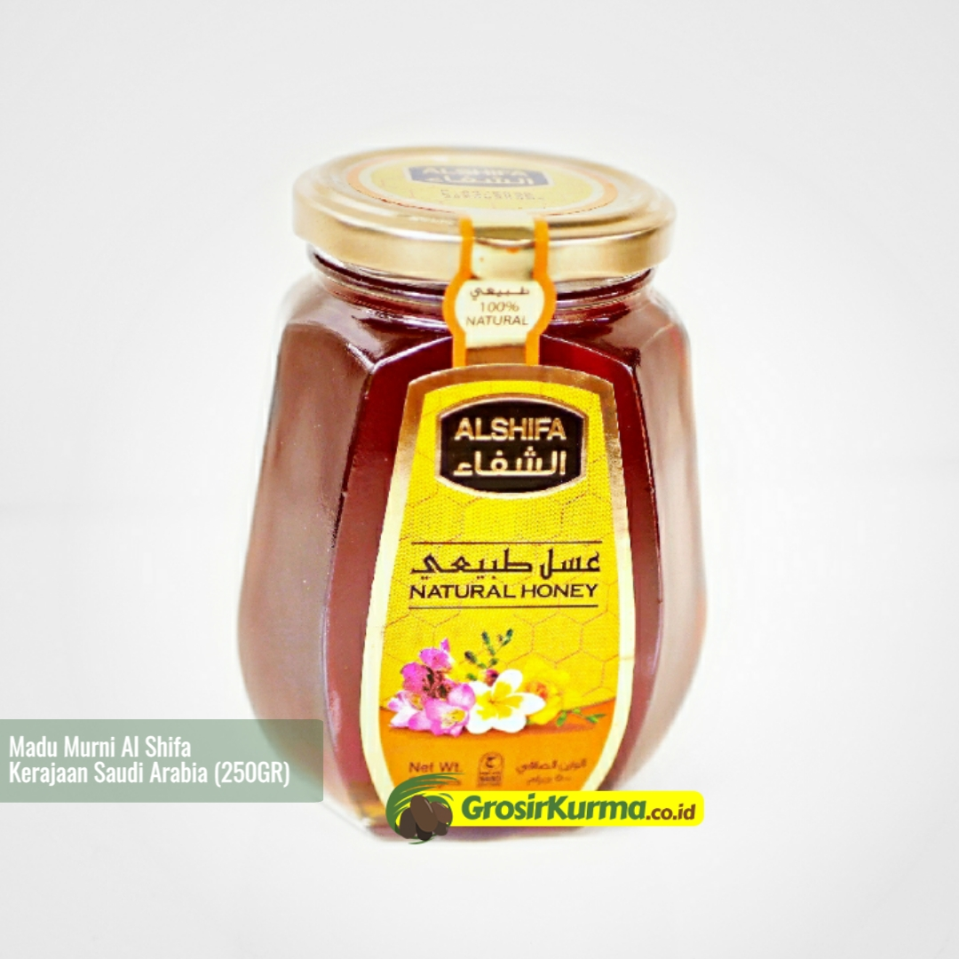 Madu Murni Saudi Al Shifa (250 Gr) – 1 Botol