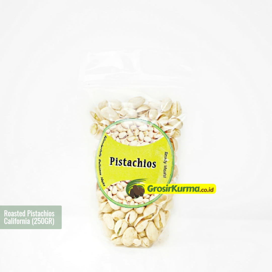 Selma California Pistachios [BEST QUALITY] (250 Gr) – 1 Pack