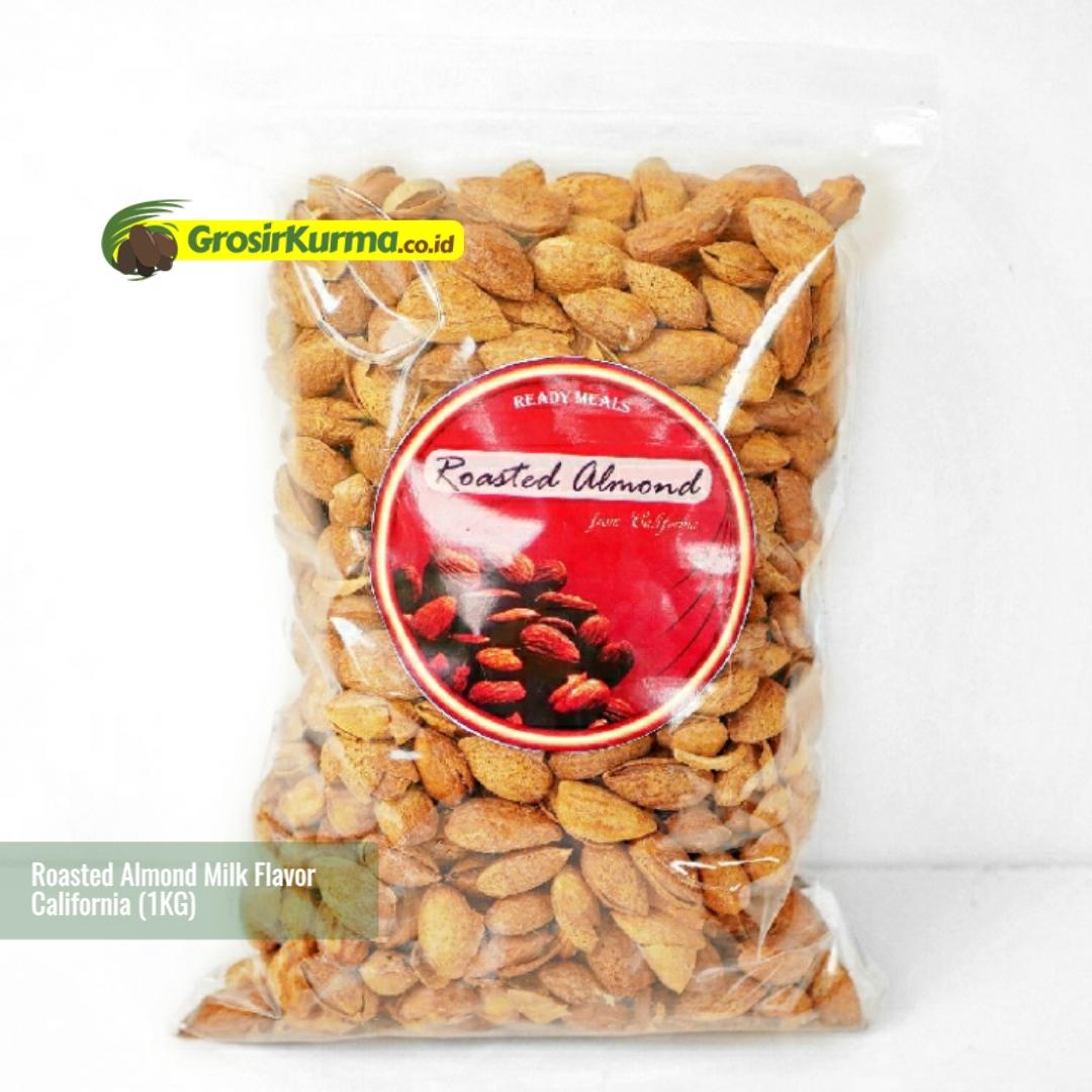 Selma Roasted Almond Milk Flavor InShell (1 Kg) – 1 Pack