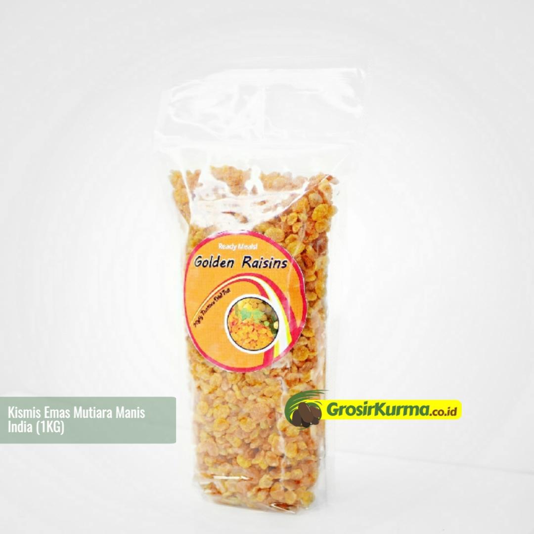 Golden Raisin Mutiara Manis (1 Kg) – 1 Pack