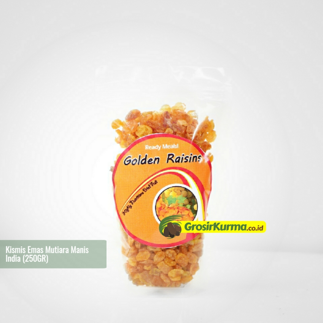 Golden Raisin Mutiara Manis (250 Gr) – 1 Pack
