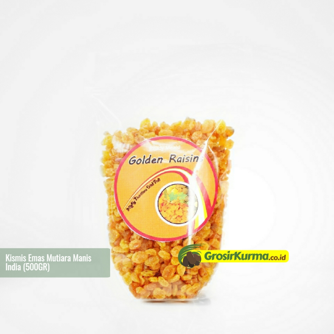 Golden Raisin Mutiara Manis (500 Gr) – 1 Pack