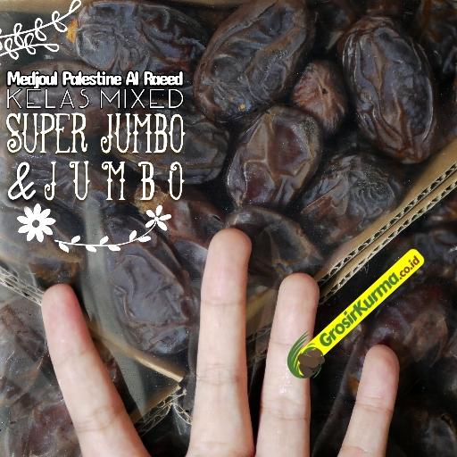 Medjoul Premium Ukuran SUPER JUMBO (5 Kg) – 1 Dus