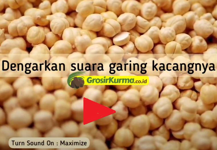 ASMR Suara Super Garing dari Kacang Arab atau Chickpeas | Nyenengin Banget Suaranya