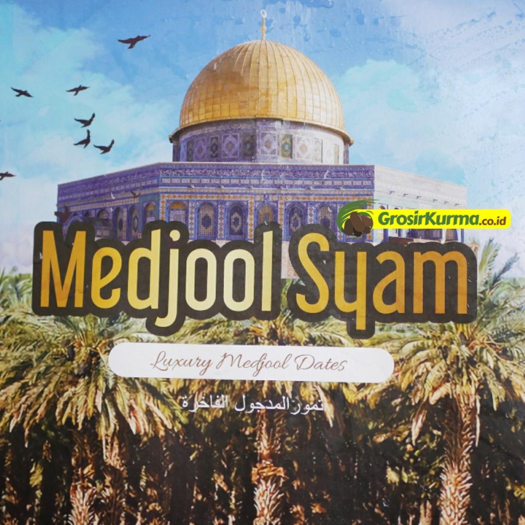 Medjool Syam Jumbo (5 Kg) – 1 Dus