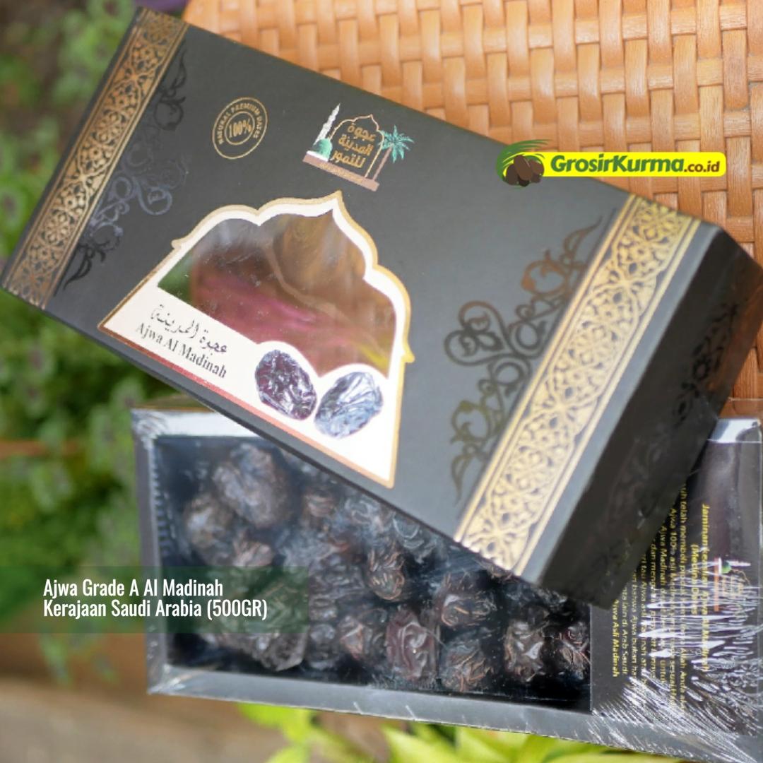 Kurma Ajwa Al Madinah Grade A (500 Gr) – 1 Pack