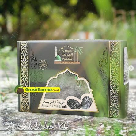 Kurma Ajwa Al Madinah Grade A (1 Kg) – 1 Pack